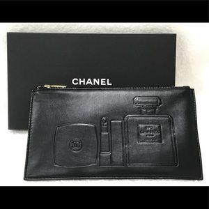 Chanel Black Makeup Bag